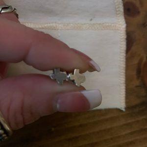 James Avery Texas Post Earrings
